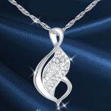 Nuovi Choker Chain d'argento delle ragazze dei monili dell'argento sterlina di disegno 925