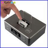 Коробка диктора Bluetooth будильника касания Radio с стыковать для Smartphone