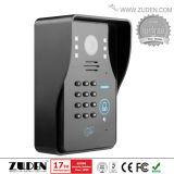 Teléfono caliente de la puerta del vídeo de color para el intercomunicador del chalet