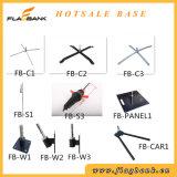Ereignis-Förderung-Fiberglas-Digital-Drucken-bewegliche Fliegen-Markierungsfahne/rechteckige Markierungsfahne