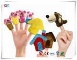 Zeit-Finger-Marionetten der Geschichte-8PCS - die drei kleine Schwein-pädagogischen Marionetten