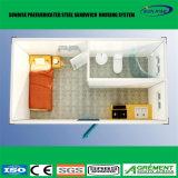 Casa prefabbricata mobile modulare prefabbricata della Camera portatile espansibile pieghevole del contenitore