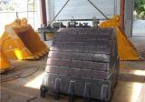 Cubeta resistente da rocha da cubeta da máquina escavadora/da cubeta lagarta 320c da garra 1.2cbm