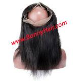 Het Maagdelijke Remy Menselijke Haar van 100% 360 de Frontale Sluiting van het Kant; 360 de Sluiting van het kant; 360 de volledige Sluiting van het Kant; De Prijs van de fabriek