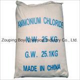 Goede Prijs voor Hoge Zuiverheid 99.6% Chloride van het Ammonium van de Rang van het Voer