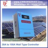 10kw -120V-80uma grade de desligar o controlador de carga solar PWM com ecrã LCD táctil