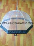 大人または子供のためのプラスチック透過雨傘