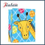 Милый мешки подарка конструкции шаржа животным напечатанные логосом розничные бумажные