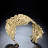 Grande braccialetto popolare della lega del polsino degli accessori dei monili di modo dell'oro della Rosa