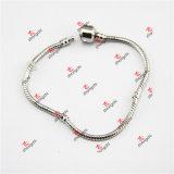 De Armband van de Juwelen van de Ketting van de Slang van het Messing van de fabriek/van de Ketting van de Parel van het Glas (DLL60226)