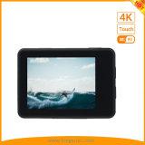 lo schermo di tocco 2inch 4K mette in mostra la macchina fotografica di DV con WiFi impermeabile