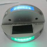 6pcs LED clignotant Cat Eyes goujon de la route solaire