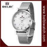 Horloge van het van de Bedrijfs manier van de Vrouwen van Belbi de Eenvoudige Lijst van de Strook van het Kwarts Waterdichte