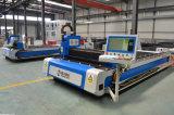 Machine de découpage rentable de laser de commande numérique par ordinateur de fibre en métal de vitesse rapide