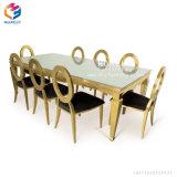Нержавеющая сталь мебели банкета случая венчания трактира гостиницы обедая стул