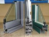 Profilo di alluminio di rifinitura del legno di colore per lo scivolamento del portello orizzontale