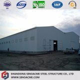 Gruppo di lavoro portale prefabbricato della fabbrica del blocco per grafici d'acciaio di prezzi bassi