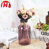 Домашняя декоративные вазы из стекла коричневого цвета
