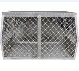 Fábrica de Aluminio de China de ventas de Ute jaulas de perros