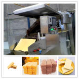Terminar a maquinaria automática do processo da fabricação de biscoitos da bolacha