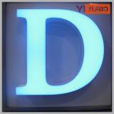 Carta del alfabeto del alto brillo de Frontlighted con diverso color