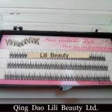 Lili-Schönheits-Großverkauf Costom einzelne koreanische falsche Peitsche-Wimper-Extensionen mit verpackenkasten