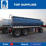 Rimorchio del camion di autocisterna del combustibile dell'Tri-Asse del veicolo del titano con 42000 litri di serbatoio del diesel