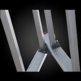 최신 판매 다중목적 고강도 망원경 알루미늄 사다리