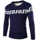 스웨터 작풍 남자 스웨터 케이블 니트 실크 캐시미어 천 스웨터 Mens