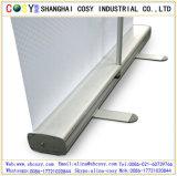 La promotion différente de tailles aluminium rouleau vers le haut le stand