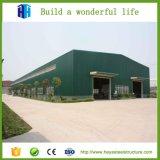Heya ha prefabbricato il disegno industriale del magazzino della struttura della lamiera di acciaio