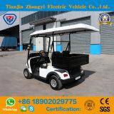 Kar van het Golf van 2 Zetels van Zhongyi de Hete Verkopende met Emmer en de Certificatie van Ce