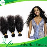 100%Unprocessed Mongolian Human Kinky Curly Hair Remy Virgin Hair