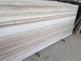 工学石のための磨かれた水晶木の白い大理石の平板