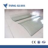 Le verre trempé clair avec bords polonais SGS Ce de la certification ISO