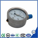 Vendas quente o medidor de pressão de Aço Inoxidável