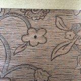 Diseño geométrico chenilla tejido sofá