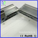 Aluminio Snap marco de publicidad delgada caja de luz LED