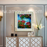 Напряжены в виде цветка лотоса картины маслом для дома украшения