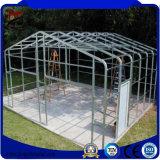 Edificios de acero de la alta calidad de la estructura prefabricada de la luz para el garage