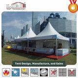 Installation facile pagode tente pour la vente