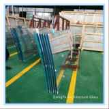 Prefab Duidelijk Gebogen Aangemaakt Glas voor het Dak/het Dakraam/de Luifel van het Glas