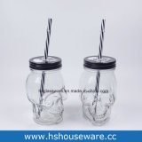 350 мл Vintage стекло молоко, расширительного бачка с крышкой и соломы