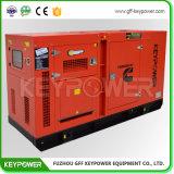 Dieselgenerator-leiser Typ mit Kraftstofftank auf Grundrahmen