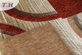 Le tissu géométrique de sofa de Chenille de configuration a conçu par le créateur chinois