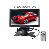 7 monitor auto Electroncis video do indicador HD LCD do carro da polegada