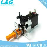 Carte de circuit imprimé de puissance stéréo TV5 Interrupteur à bouton poussoir