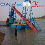 het Uitbaggeren van 15m de Gouden Baggermachine van het Zand van de Emmer van de Keten van de Diepte