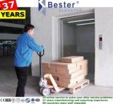 Ascenseur de fret d'acier peint ou de l'acier inoxydable 304 pour l'industrie et logistique