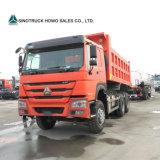 판매를 위한 Sinotruk 상표 HOWO 336HP 10 짐수레꾼 모래 팁 주는 사람 트럭